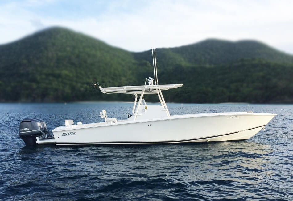 33 ft Jupiter Center Console
